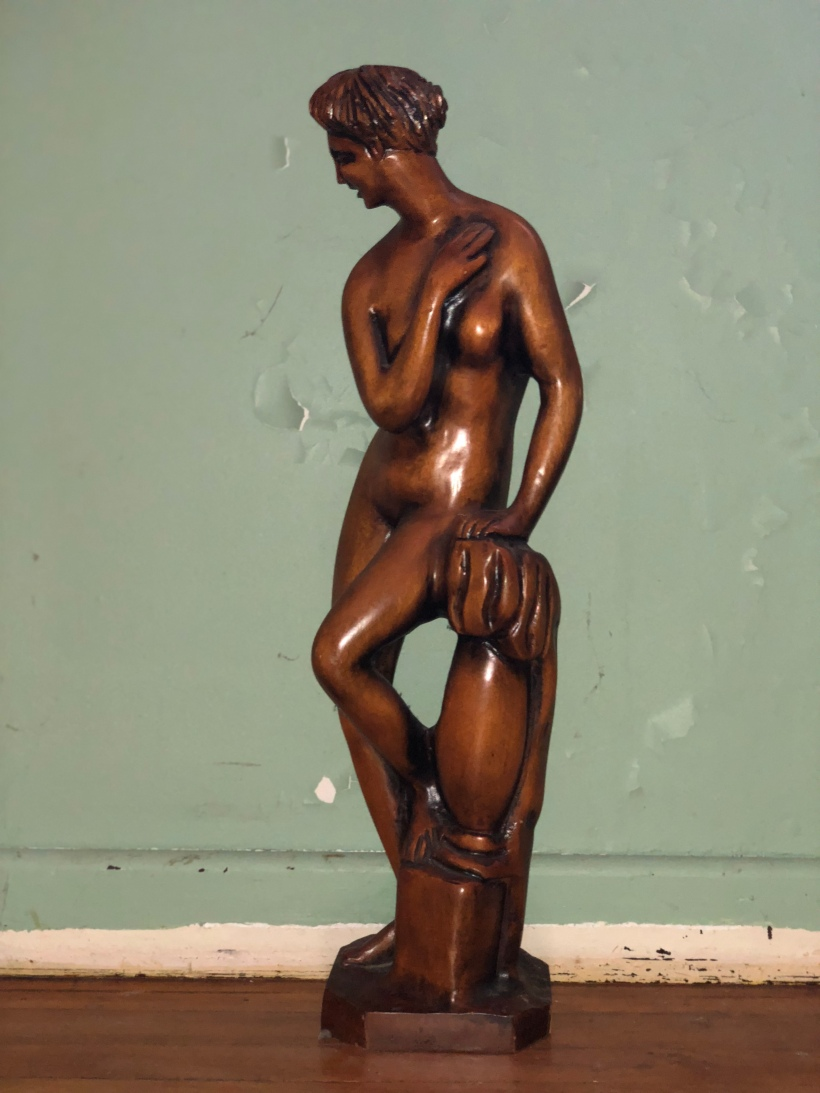 Timeless wooden lady